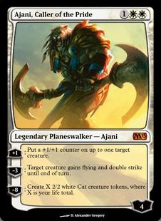 Ajani, Caller of the Pride, Magic 2013 (M13) – Cardhoarder ...