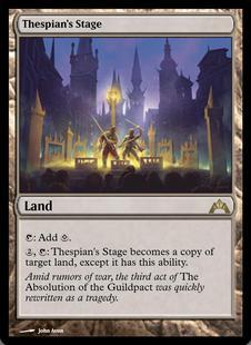 Thespian's Stage, Gatecrash (GTC) – Cardhoarder MTGO