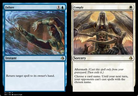 4 x Failure Comply Rare Instant // Sorcery Amonkhet MTG